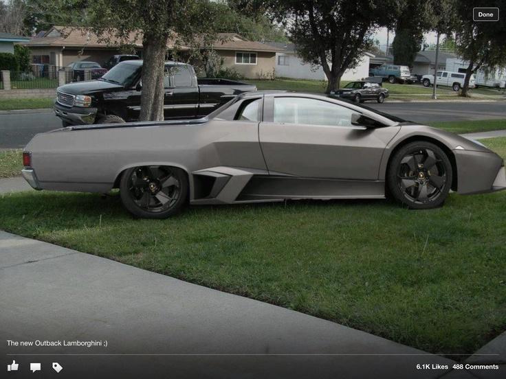 Lamborghini Ute What Cars Vehicles Bikes Pinterest