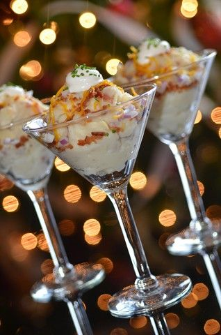 Mashed potato bar. This will be at my wedding