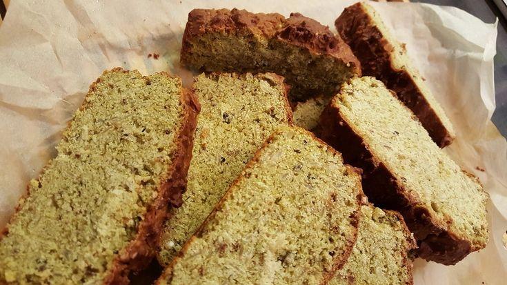 pane di piselli al muesli salato, senza glutine, dieta gruppo sanguigno