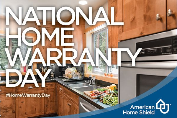 February 10th is National Home Warranty Day! This is a day to celebrate what a #HomeWarranty can do, will do, and has done to protect your Home from the unexpected. -AmericanHomeShield #HomeOwnerTips