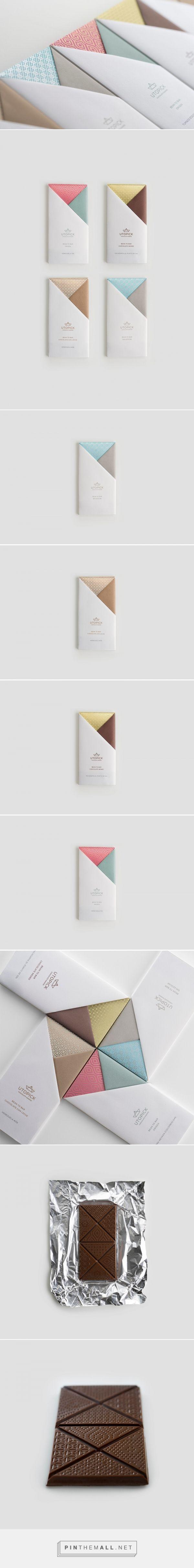 Utopick Chocolates packaging design by Lavernia & Cienfuegos - http://www.packagingoftheworld.com/2017/04/utopick-chocolates.html