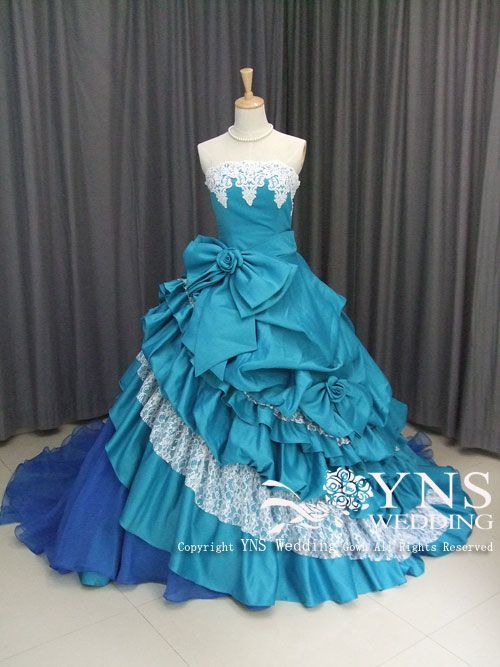 SR10914BU [カラードレス [SELECTED DESIGN]] |ウエディングドレス、カラードレス ならYNS WEDDING