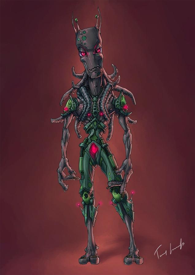 tommy karnerfors ARTcreations: Alien Commander