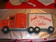 Semi Truck Cake - Bing Images                                                                                                                                                                                 More