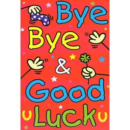 Goodbye And Good Luck Quotes QuotesGram by @quotesgram So Long - good luck card template