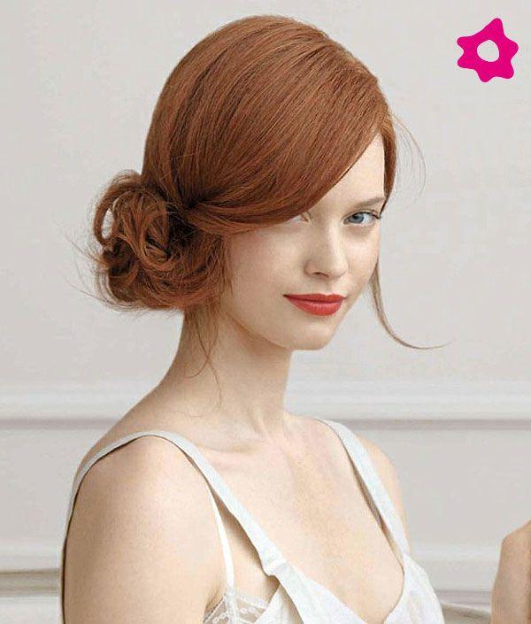 PERFECTA ARMONIA:  recogidos, laterales, novias, moño, peinado, novia, pelo, melena.