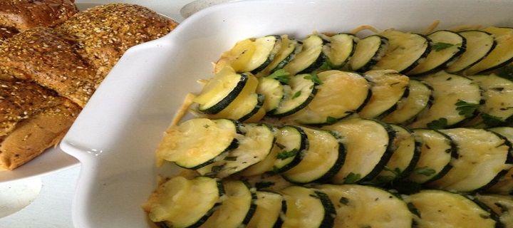 Courgette, aardappelovenschotel met kaas - Koken voor mijn peuter