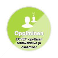 ECVET, opettajan tehtävänkuva ja osaamiset