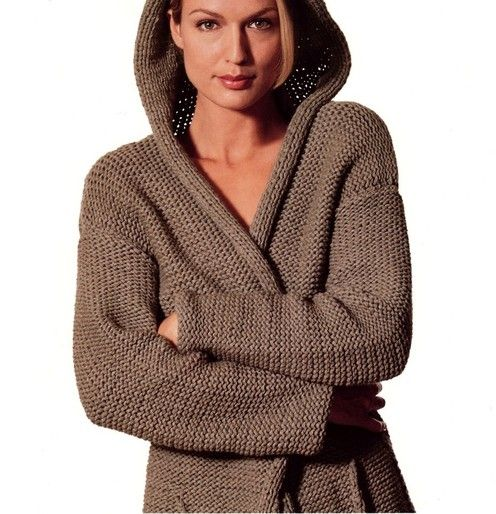 PATTERNFISH - Hooded Jacket and Sleeveless Pullover Knitting Pinterest ...