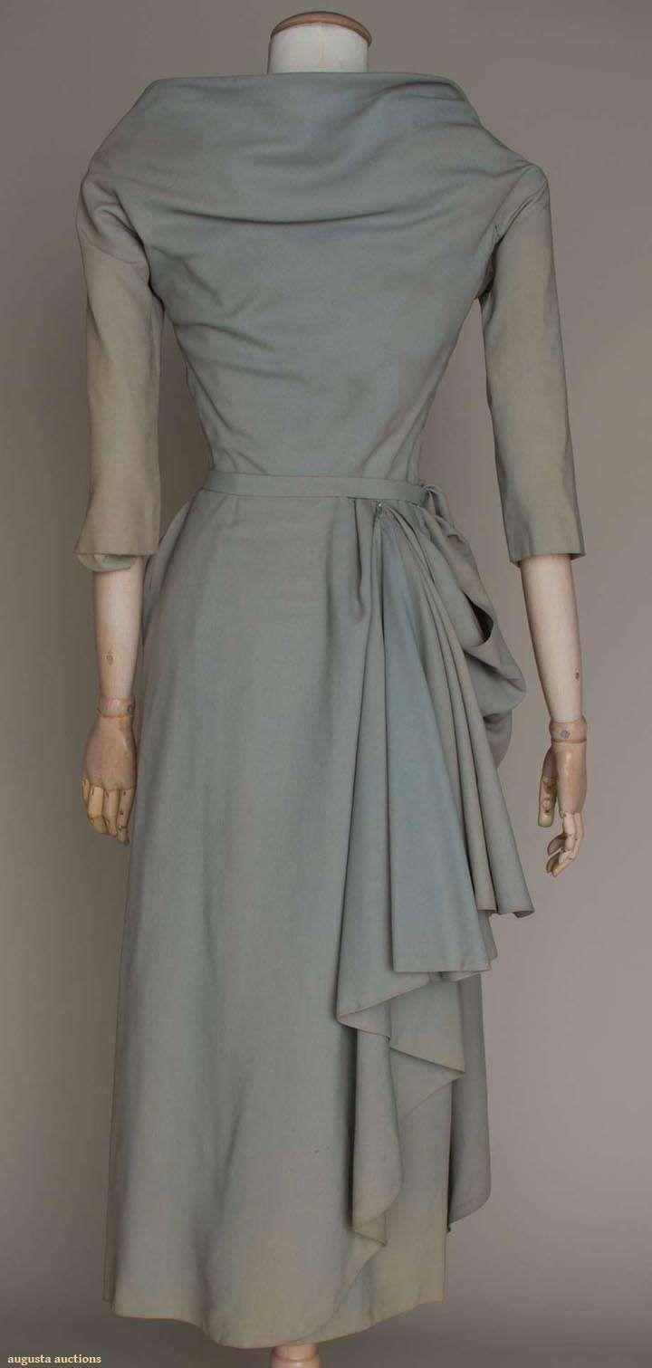 Augusta Auctions - Jean Desses cocktail dress -  Late 1940s