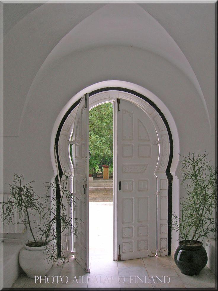 """The world's most beautiful villa in the world""    Hammanet Tunisia, Africa Photo Aili Alaiso Finland"