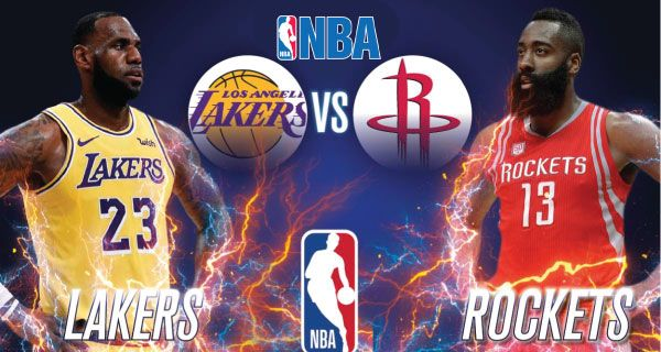 Los Angeles Lakers Vs Houston Rockets Lakers Vs Houston Rockets Los Angeles Lakers