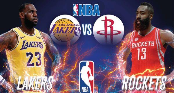 Los Angeles Lakers vs Houston Rockets | Lakers vs, Houston rockets, Los  angeles lakers