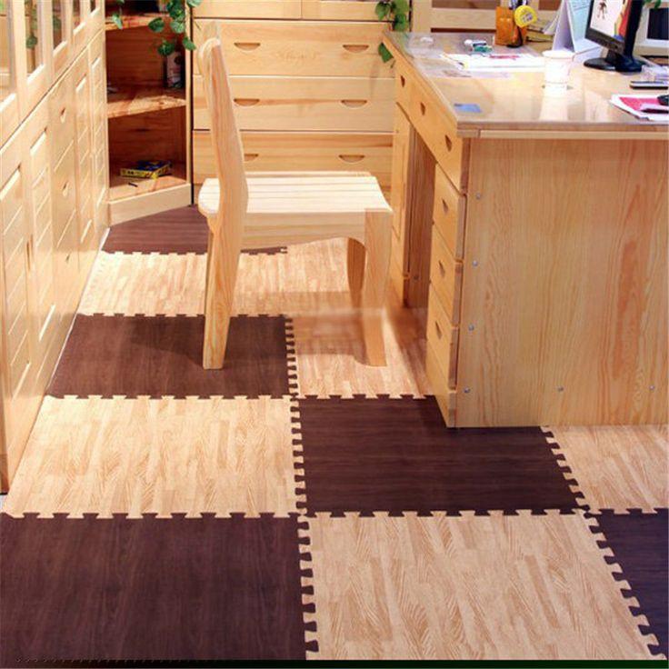 Bois Grain Sol Souple eva puzzle ramper pad verrouillage mousse tapis de sol étanche tapis pour enfant enfants bébé chambre gym 30*30*1 cm dans Tapis de jeux de Jouets & Loisirs sur AliExpress.com   Alibaba Group