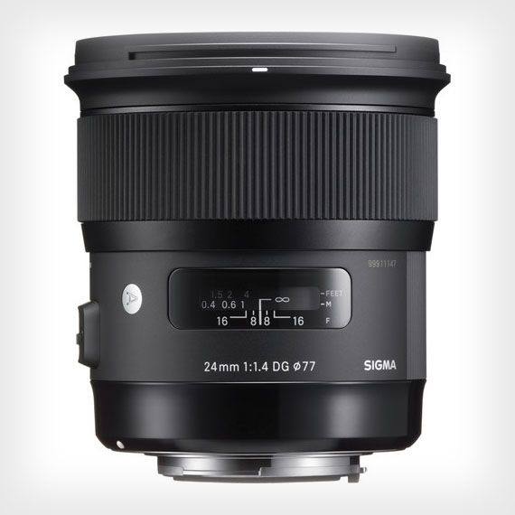 Sigma has announced the latest lens in its highly-acclaimed Art series of premium lenses. The newly unveiled 24mm f/1.4 DG HSM follows the 35mm f/1.4 and 5