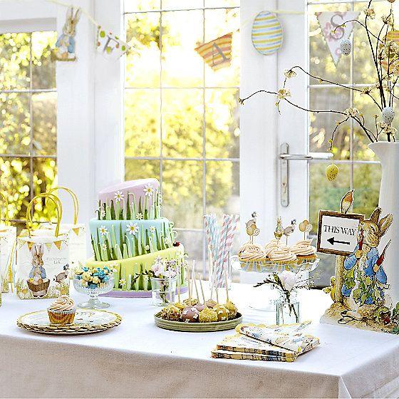 Peter Rabbit Easter Party Range in picnicware at Lakeland