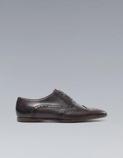 STREET OXFORD SHOE - Shoes - Man - ZARA Egypt