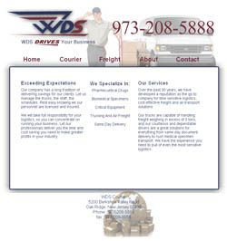 Website designed here in Mesa Arizona for an east coast customer. The design uses jquery and the scrollto plugin, which is very cool. If you would like to see it in action, go to wdsnj.com and check it out. The front website page contains all the content, but the sections are divided into paginated scrolling sections with unique URLs.