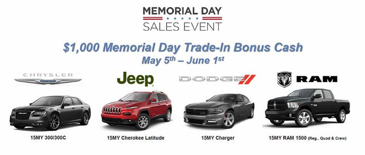 memorial day car sales boise