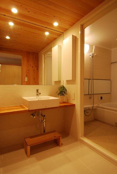マンションリフォームと全面鏡 | 設計・プランニング | 木のマンションリフォーム・リノベーション-マスタープラン一級建築士事務所