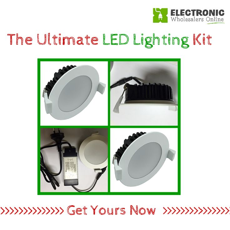 The Ultimate LED Lighting Kit. Love Life. Love LED