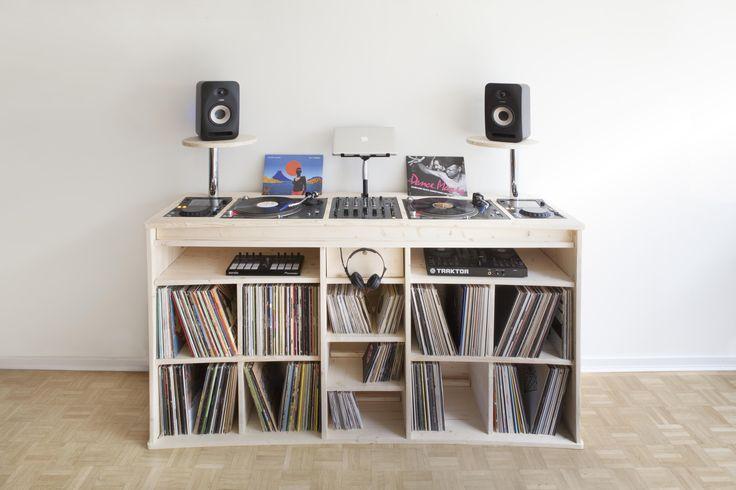 premier meuble made in estis pour les dj et professionnels. Black Bedroom Furniture Sets. Home Design Ideas