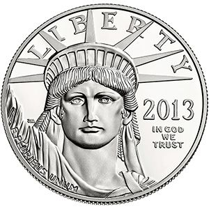 2013 American Eagle One Ounce Platinum Proof Coin