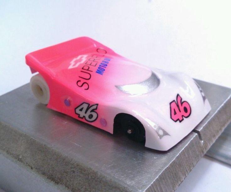 Host Snark lexan ho slot car body for VIPER 1/64 custom painted drag