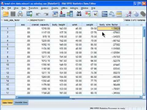 I demonstrate how to perform an analysis of covariance (ANCOVA) in SPSS. The first part of the series is relevant to the ANCOVA tested through the convention...