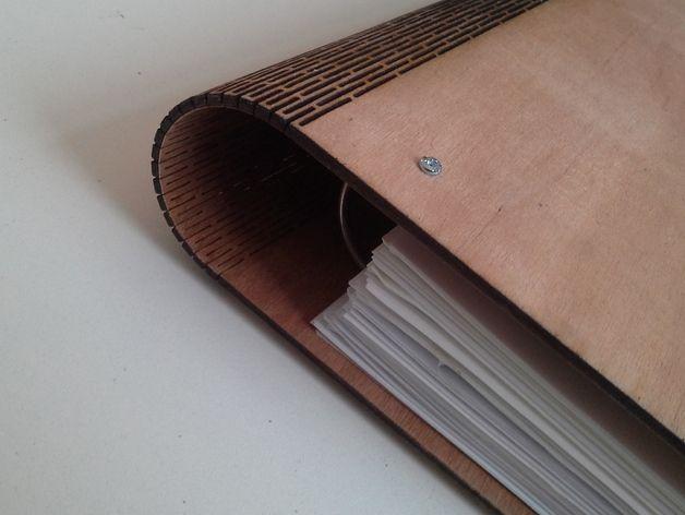 Wooden A3 Presentation Folder by HarryHutton - Thingiverse