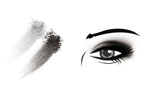 smoky eyes nero: tutorial trucco passo passo