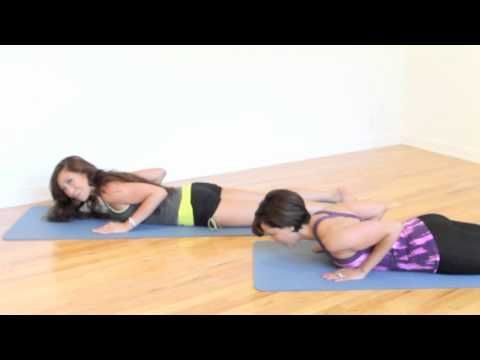 10-minute Total Body Pilates Workout- Casey Ho and guest, Ana Caban