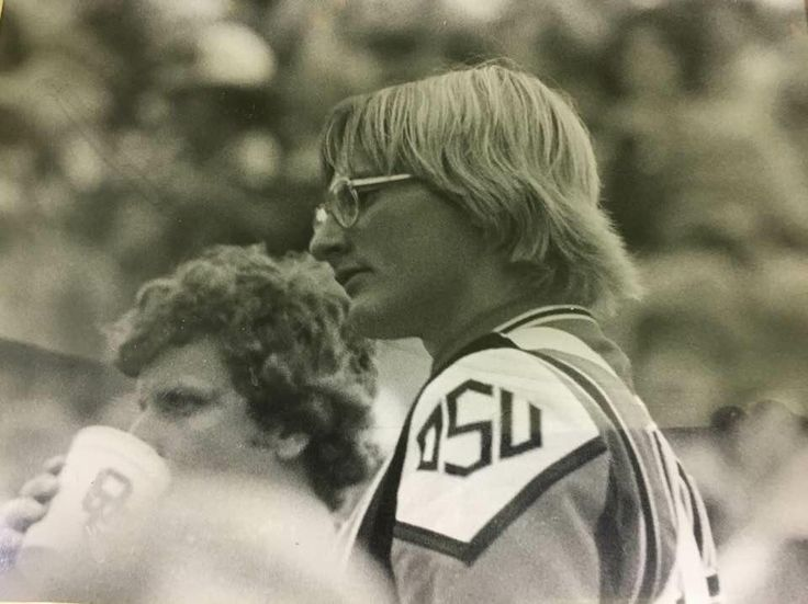 In honor of his 60th heres my dad! Circa 77 repping his alma mater at Bedlam. One heck of a cool guy. http://ift.tt/2hkqJqz