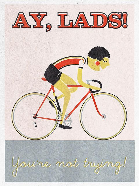 Illustration... Bicycles...