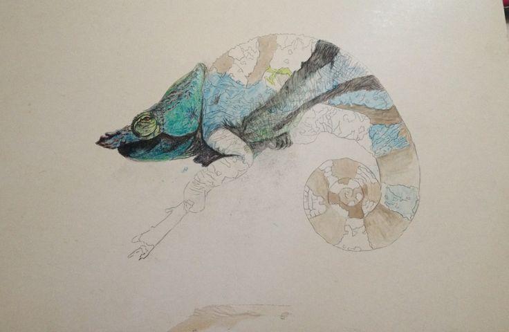 chameleon... in progress