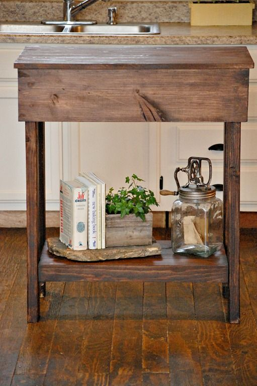 1000 images about reclaimed wood island on pinterest for How to build a rustic kitchen island