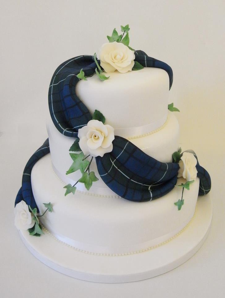tartan wedding cake - Google Search