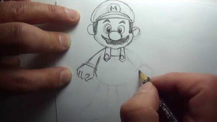 Cómo dibujar a Mario