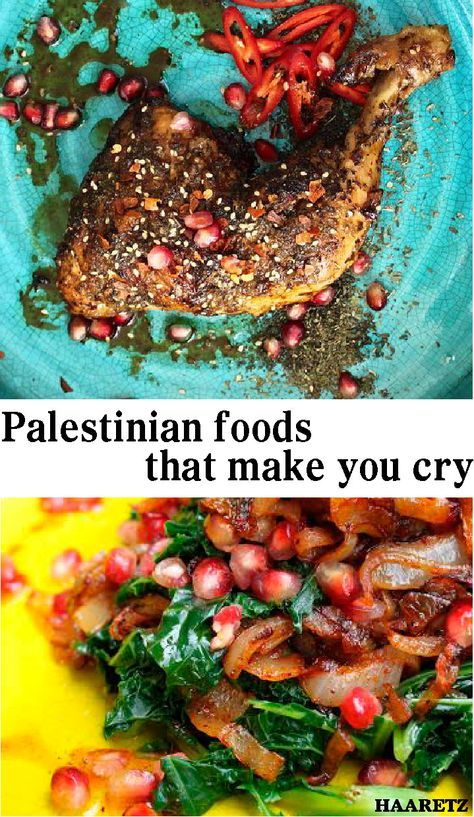 2 Palestinian food recipes that will make you cry. And not out of sadness. Palestinian-British restaurateur Joudie Kalla developed an app to serve up her family's recipes, with a healthy serving of politics on the side.