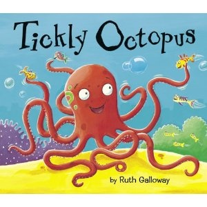 Tickly octopus ocean children 39 s book by ruth galloway for Fish children s book
