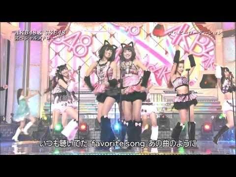 "【HD】ヘビーローテーション AKB48+山本彩&SKE48 (猫耳Ver) ""HEAVY ROTATION"" - YouTube"