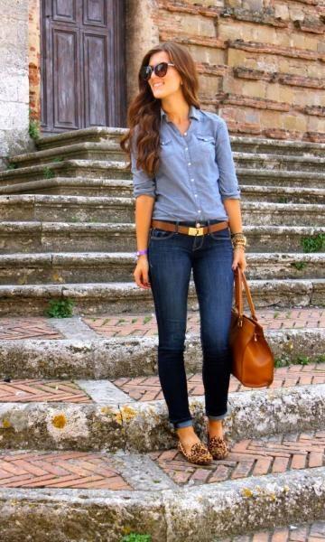 camisa jeans                                                                                                                                                                                 Mais