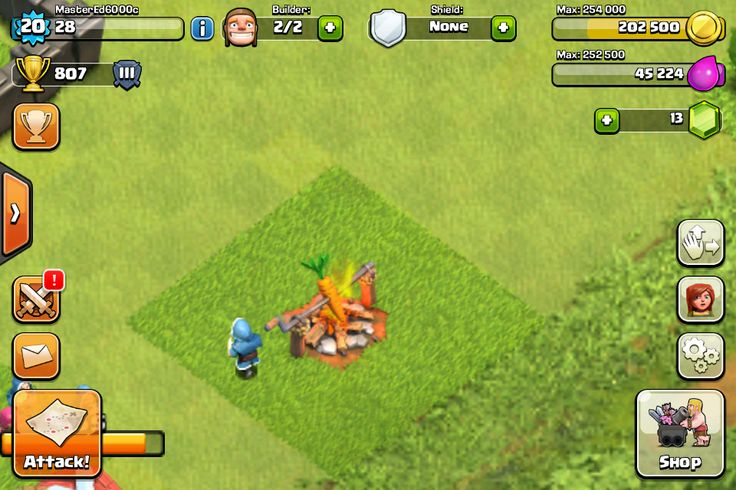 Study this wizard from Clash of Clans. Does he know he is being watched?...