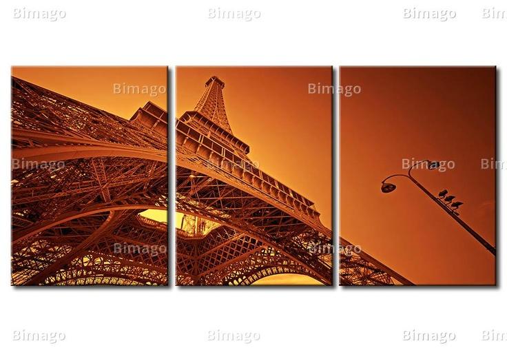 Tableau Paris - Tour Eiffel