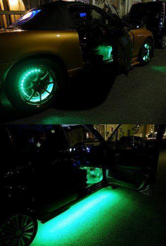 グリーン 600連 高輝度 LED テープ 5m 緑 12V 白ベース 防水 イルミネーション 電装品 【カーパーツ】:Amazon.co.jp:カー&バイク用品