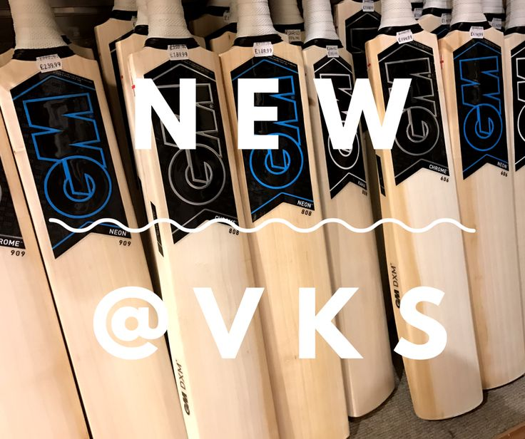 The new Gunn and Moore cricket bat range available now at VKS. Online and instore.