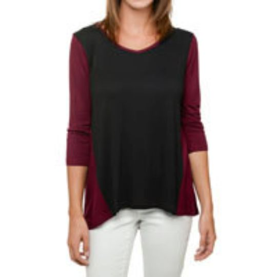 Gameday Baseball Tunic - Maroon and Black