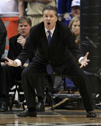 John Calipari- so they say he can only recruit- looks like coaching to me.