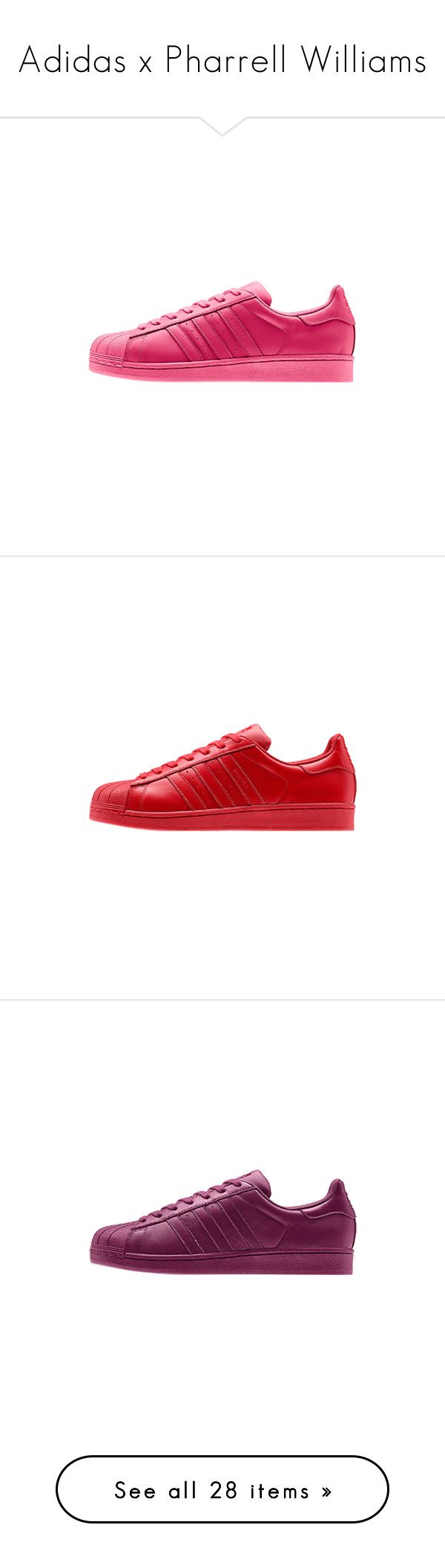 """Adidas x Pharrell Williams"" by daniaindria ❤ liked on Polyvore featuring adida, shoes, sneakers, adidas, men's fashion, men's shoes, men's sneakers, mens leather shoes, mens leather sneakers and adidas mens shoes"
