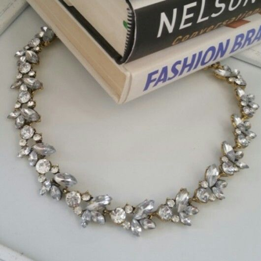 Classic Monarch - R160. Statement jewelled necklace. Email zulululuza@gmail.com for the latest catalogue.